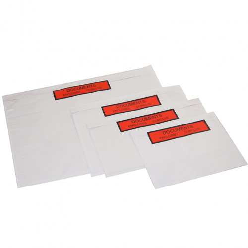 Pochettes porte-documents Documents ci-inclus