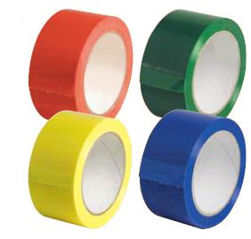 Rubans adhésifs PVC couleur