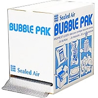 Film bulles en boîte distributrice