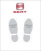 Tapis de sol logo Seat