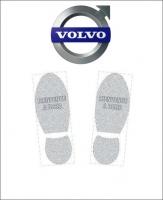 Tapis de sol logo Volvo