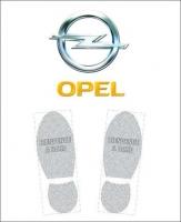 Tapis de sol logo Opel