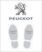 Tapis de sol logo Peugeot