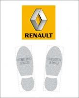 Tapis de sol logo Renault