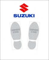 Tapis de sol logo Suzuki
