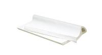 Papier kraft blanc frictionné en format